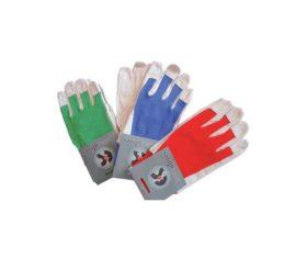 Γάντια-Από-μικροϊνες-Μπλέ-Κόκκινα-Νο-911.05.0212