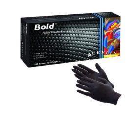 Γάντια Νιτριλίου AURELIA BOLD Μαύρα Χωρίς Πούδρα11.05.0260