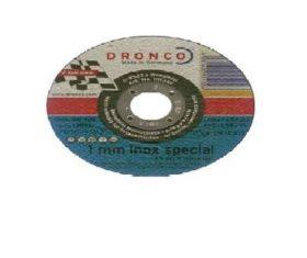 Δίσκος Κοπής Σιδήρου 115x1x22 DRONCO 1mm INOX SPECIAL08.01.1420