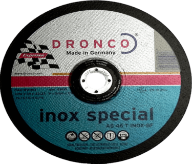 Δίσκος Κοπής Σιδήρου 230x1,9x22 DRONCO 1,9 INOX SPECIAL 08.01.0241
