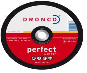 Δίσκος Λείανσης Σιδήρου 230x6x22 DRONCO PERFECT08.01.0275