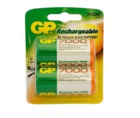 Μπαταρία Επαναφορτιζόμενη GP 7000 NiMH 1.2V08.11.0858