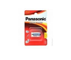Μπαταρία Λιθίου CR123 PANASONIC 3V08.00.2203