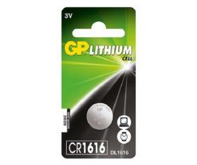 Μπαταρία Λιθίου CR1616 GP 3V08.00.2281