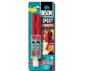 BISON EPOXY 5 MINUTES Κόλλα Δύο Συστατικών 24ml05.18.0138