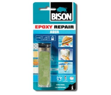 BISON EPOXY REPAIR AQUA Εποξική Σφραγιστική κόλλα Δύο Συστατικών 56gr05.18.0498